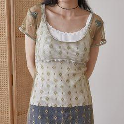 wave line sleeveless