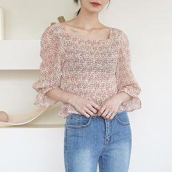 barley smoke blouse