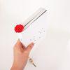 손뜨개 카네이션 꽃갈피