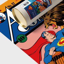 디씨코믹스 인테리어 포스터 - 액션코믹스 골든에이지 15종