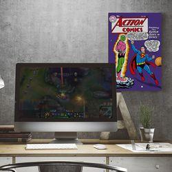 디씨코믹스 인테리어 포스터 - 슈퍼맨 실버에이지 10종