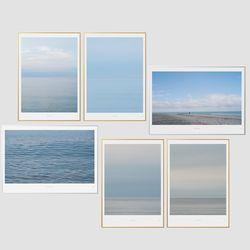 [A2 Print+Frame] 인테리어액자 아트프레임 바다 6종