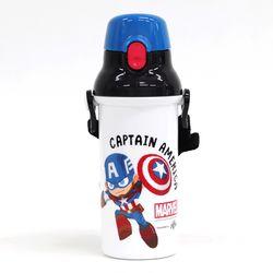 마블 아이언맨 캡틴 원터치 물통 480ML