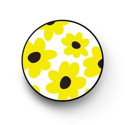 옐로우플라워 화이트 핑걸링 스마트톡