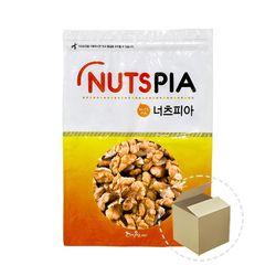 넛츠피아 호두 분태 1kg 1박스(10개)호두분태호두