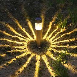 건전지가 필요없는 LED 태양광 미니원통 무드등