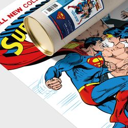 디씨코믹스 인테리어 포스터 - 슈퍼맨 브론즈에이지 9종