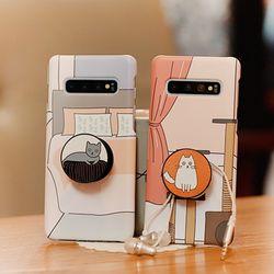 아이폰8 Gatos 그립톡 하드케이스