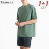 [1+1(선택가능)] [패키지] 프리미엄코튼 Errday 루즈핏 반팔 티셔츠 10컬러