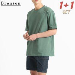 [1+1] [패키지] 프리미엄코튼 Errday 루즈핏 반팔 티셔츠 10컬러