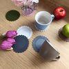 El plato 실리콘 컵받침 11color