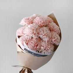 비누꽃 카네이션 12P 네츄럴 꽃다발