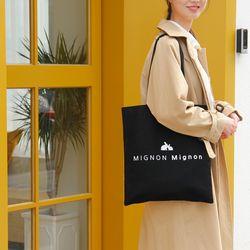 mignon mignon 미뇽미뇽 비비에코백 캔버스가방 (2 color)