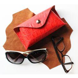 썬글라스 안경 돋보기 천연가죽소프트케이스