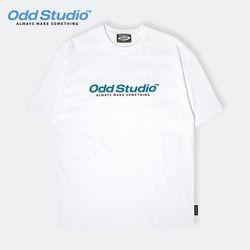 오드스튜디오 스탠다드 로고 티셔츠 - WHITE