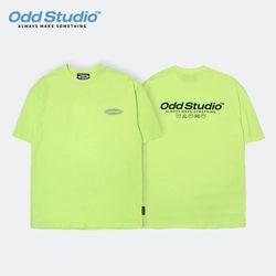 오드스튜디오 오디디 스카치 티셔츠 - LIME