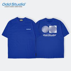 오드스튜디오 아티스틱 티셔츠 - BLUE
