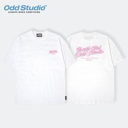 오드스튜디오 유스클럽 티셔츠 - WHITE