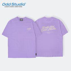 오드스튜디오 유스클럽 티셔츠 - PURPLE