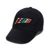RAINBOW BASEBALL CAP BLACK