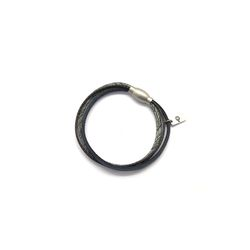 [오뜨르뒤몽드] rope leather men bracelet