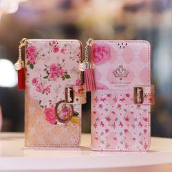 아이폰6s Encanto-Garden-T 지퍼 지갑 다이어리 케이스