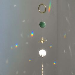 sun catcher : green charm v.2