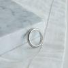 [925실버] 베이직 실버 반지 basic silver ring