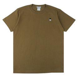 [알슨] AR-SS004 캐릭터자수 반팔 티셔츠 (KHAKI)