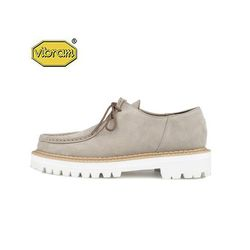 WHITE OVER SOLE TIROLEAN SHOES (beige)