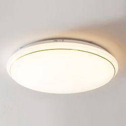 올리브 원형 LED 방등 60W (3단계 색변환)