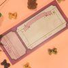 Winery Ticket 메모패드