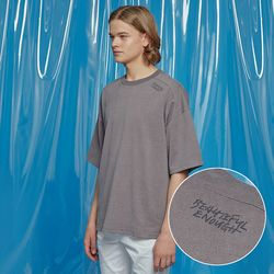 VENT PIGMENT OVERSIZED TEE CHARCOAL