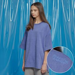 VENT PIGMENT OVERSIZED TEE BLUE