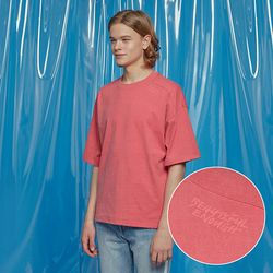 VENT PIGMENT OVERSIZED TEE RED