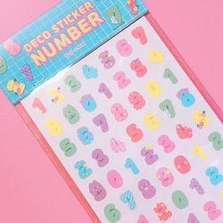 Deco Sticker - Number