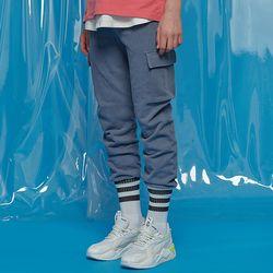 PIGMENT CARGO JOGGER PANTS BLUE