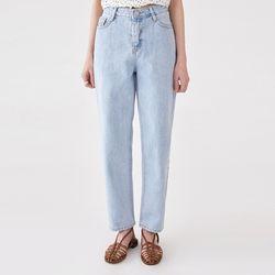 have straight light denim pants (s m l)