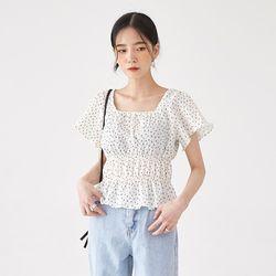 grande flower banding blouse