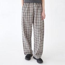 comfortable check pants