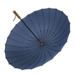 크로반 튼튼한 프리미엄 장우산 우드그립 수동 KR1