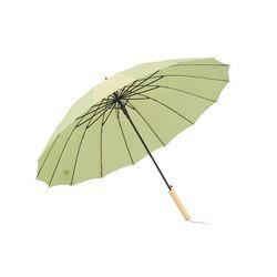 크로반 튼튼한 장우산 모던파스텔 우드그립 KR2