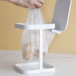푸코 철제 사각 가정용 음식물 쓰레기통 거치대