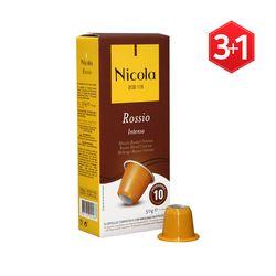 [니콜라카페] 로시우 인텐소 (네스프레소 호환 캡슐커피) 3+1