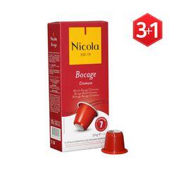 [니콜라카페] 보카즈 크레모소(네스프레소 호환 캡슐커피) 3+1