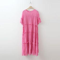 Lovely Pleated Long Dress