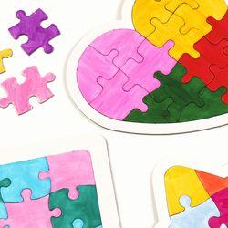 퍼즐만들기 종이 퍼즐 만들기재료 조각맞추기