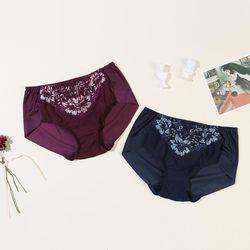 Two-tone Color Lace 텐셀(TENCEL)섬유 노라인 햄(HEM) 팬티