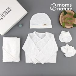 오가닉 신생아 출산선물 세트 5종
