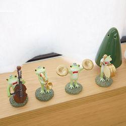 개구리 악단 4종세트